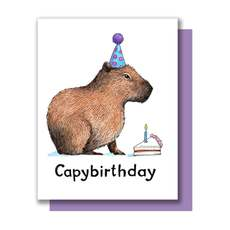Capybara Birthday