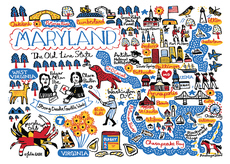 Statescapes: Maryland
