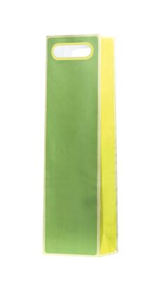 Unica Green & Yellow Wine Bag