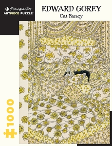 Edward Gorey Cat Fancy Puzzle - 1000pc