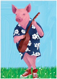 Aloha Oink (Father's Day)