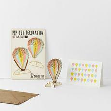 Hot Air Balloon Pop Out Card