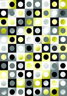 Black & White Checker Wrap