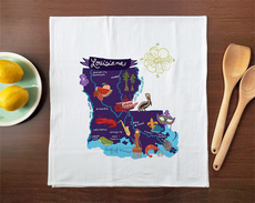 Hello: Louisiana Towel