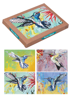 Hummingbirds Assorted Boxed Notes