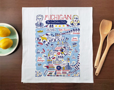 Statescapes: Michigan Towel