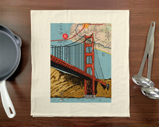 Golden Gate Towel