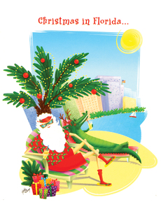 Allport Editions Florida Christmas 12 Days
