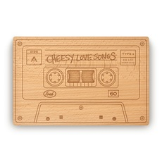 Cheesy Love Songs Cutting and Serving Board