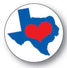 Texas Love Button