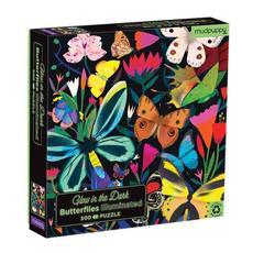 Butterflies Illuminated Glow-in-the-Dark Puzzle - 500pc