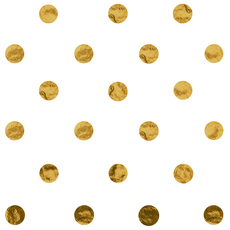Gold Dot Tissue Paper
