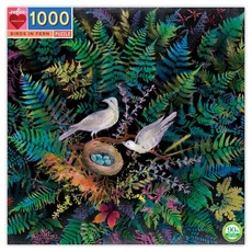 Birds in Ferns Puzzle - 1000pc