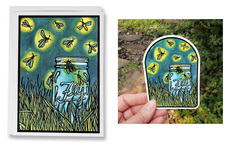 Firefly Card and Sticker