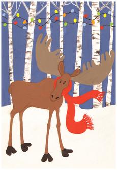 Christmas Lights for Moose