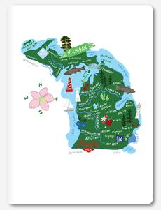 Hello: Michigan Notebook