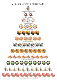 Sushi Lover's Christmas