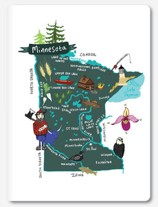 Hello: Minnesota Notebook