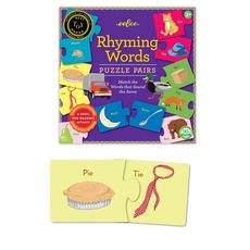 Kids Rhyming Words Puzzle Pairs