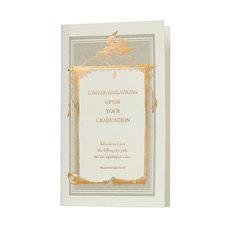 Congratulations Upon Your Graduation Card