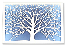Tree of Life Laser Cut Boxed Notecards