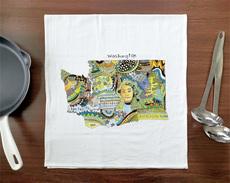 Doodle: Washington Towel