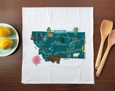 Hello: Montana Towel