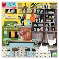 Kitchen Chicken 1000 Piece Puzzle