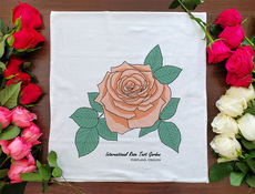 International Rose Test Garden Towel