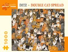 Ditz - Cats 1000pc Puzzle