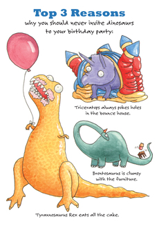 Dino Birthday Party
