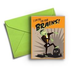 Zombie Brains Halloween
