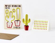Cactus Pop Out Card