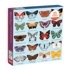 Butterflies of North America Puzzle - 500pc