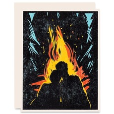 Campfire Couple
