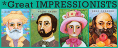 Great Impressionist Artists