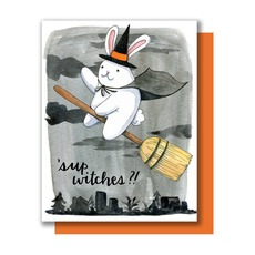 Sup Witches Halloween Card