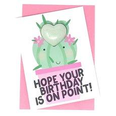 Birthday On Point Bath Bomb Card