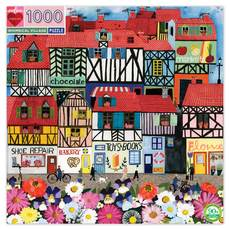 Whimsical Village Puzzle - 1000pc