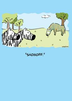 Zebra Showoff