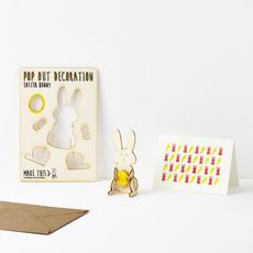 Easter Bunny Pop Out Card