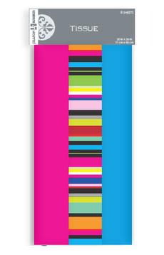 Stripe Trio Tissue Paper