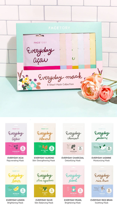 Everyday Face Mask Collection Gift Set