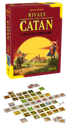 Rivals For Catan 2-Player Game