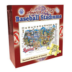 Baseball Stadiums of the USA Puzzle - 550pc