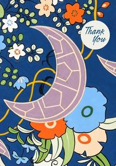 Japanese Decorative Design Thank You Cards