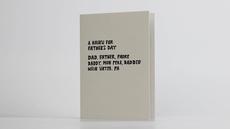 Father's Day Haiku Card
