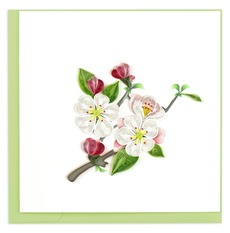 Apple Blossom Quilled Card