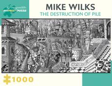 Destruction of Pile - 1000pc Puzzle
