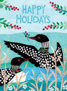 Holiday Loons